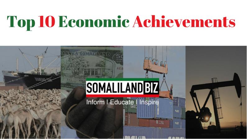 Top 10 Economic Achievements in Somaliland Since 1991