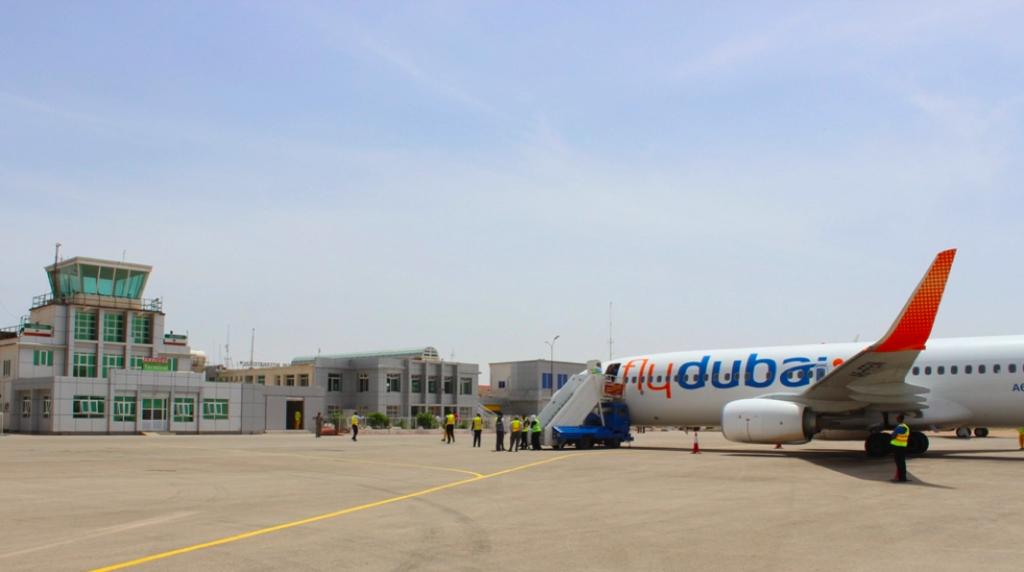 Hargeisa-Airport-FlyDubai-Plane