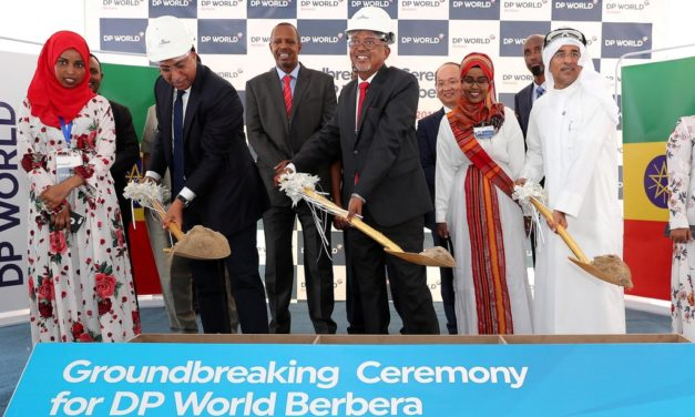 DP World and Somaliland Ground-Breaking Ceremony – October 2018