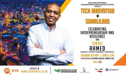 An Evening With Ismail Ahmed From WorldRemit
